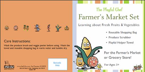 Farmers Market Booklet Cover