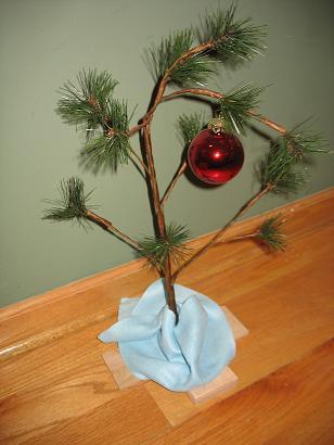Charlie Brown Christmas Tree
