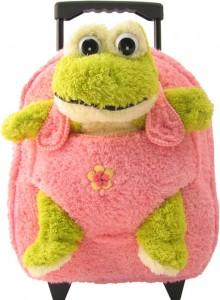 frog stuffed backpack
