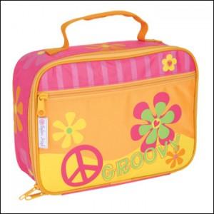 groovy peace lunch bag