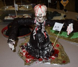 Ghoul cake