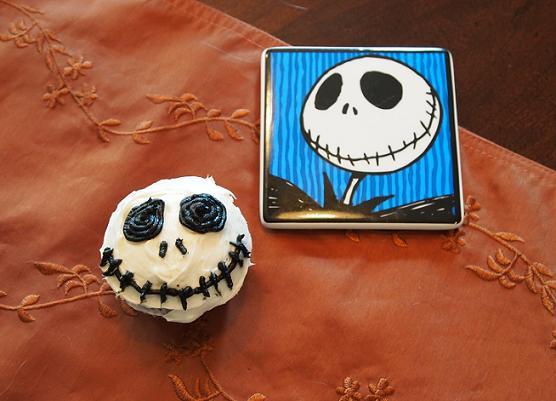 jack skellington cupcake
