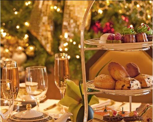 Holiday Tea at the Peninsula Hotel