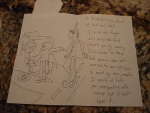 Letter to Buddy the Elf