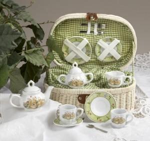 bunny tea set