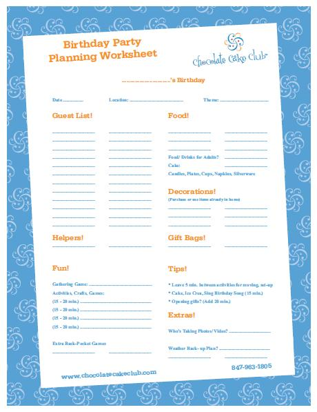 Printables Party Planning Worksheet free download kids birthday party planning guide chocolate i love to plan parties
