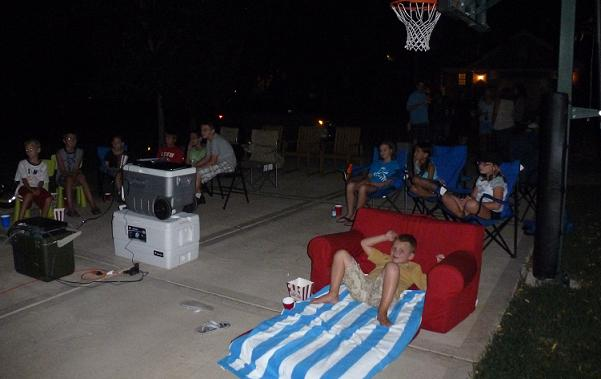 ... outdoor movie night as well. 4. - Spring Break Staycation Idea: A Spectacular Outdoor Movie Night