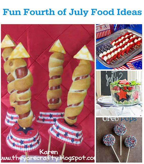 Fun food ideas for a fourth of july celebration for 4th of july celebration ideas