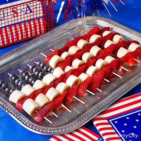 Fun food ideas for a fourth of july celebration for July 4th food ideas