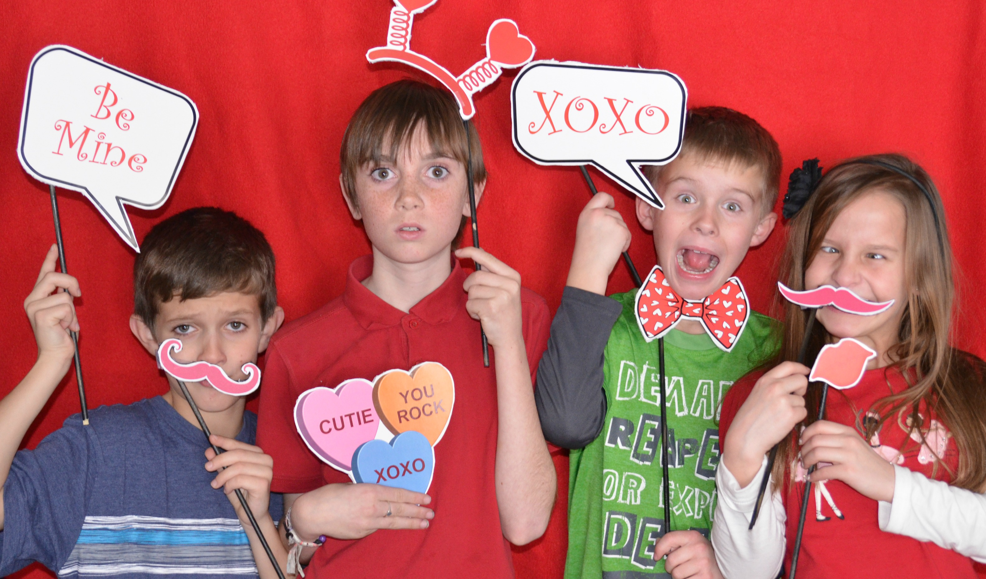 valentines day photo shoot - Valentines Day With Kids