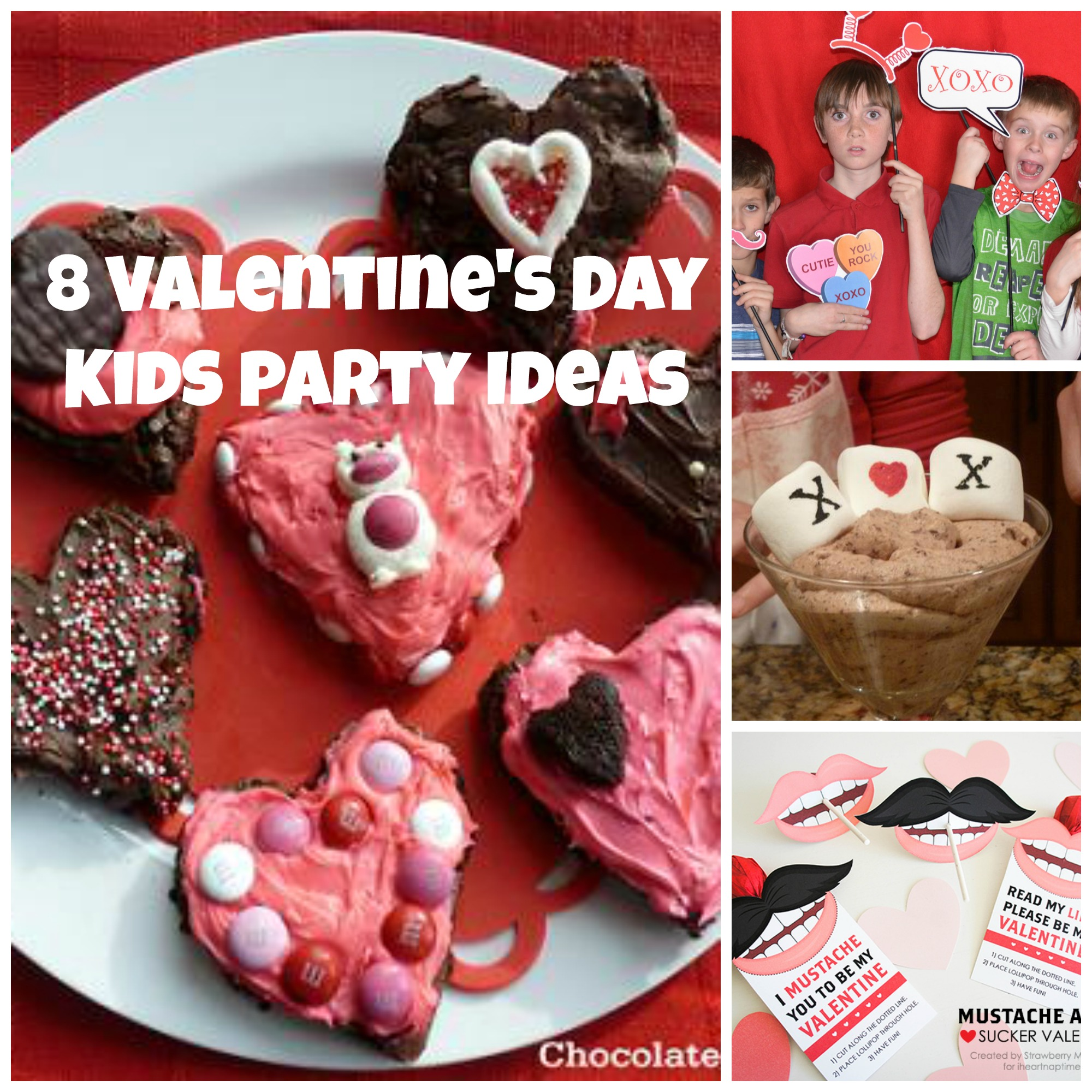 8 easy valentine u0027s day kids party ideas chocolate cake moments