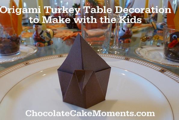 Origami Thanksgiving Turkey 1